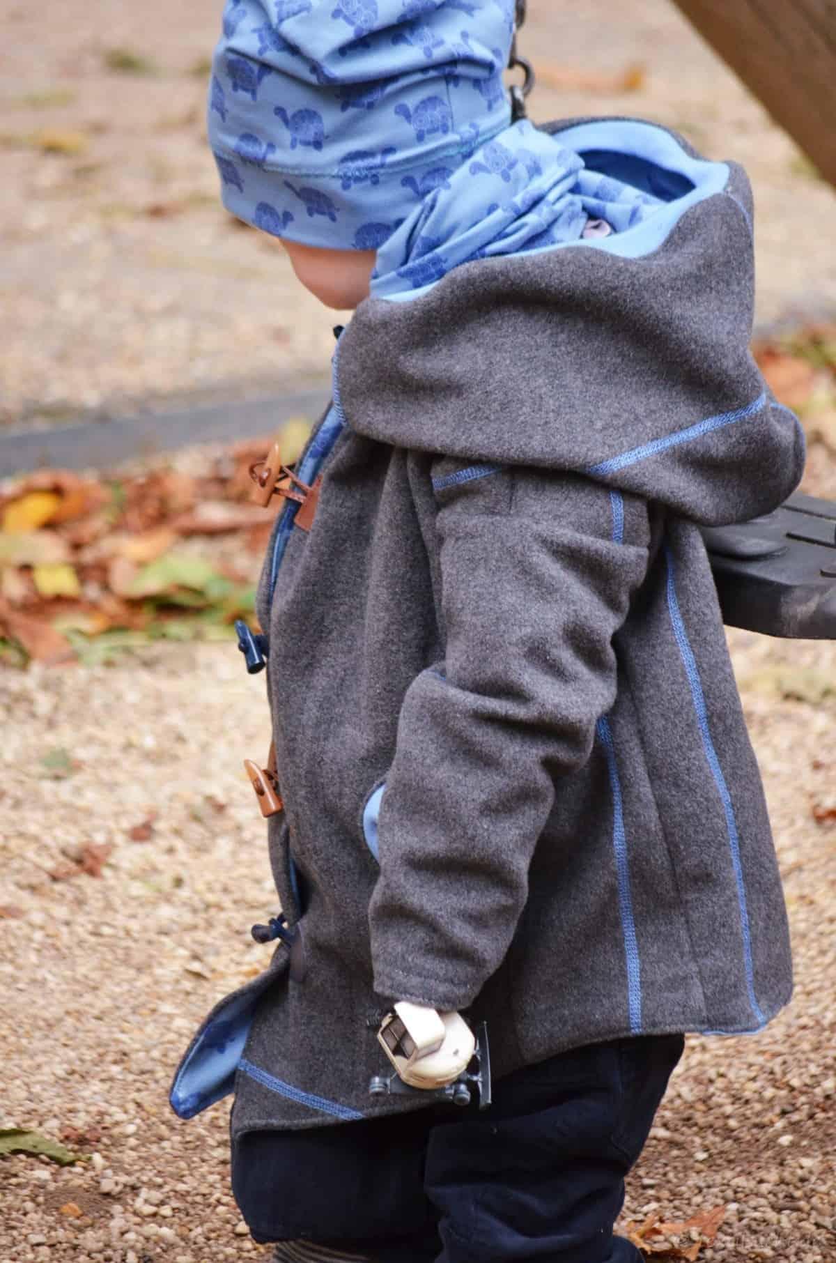 Upcycling Winterjacke für Kinder nähen - Bild 6 | textilsucht.de