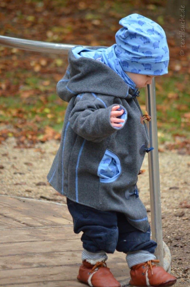Upcycling Winterjacke für Kinder nähen - Bild 5 | textilsucht.de
