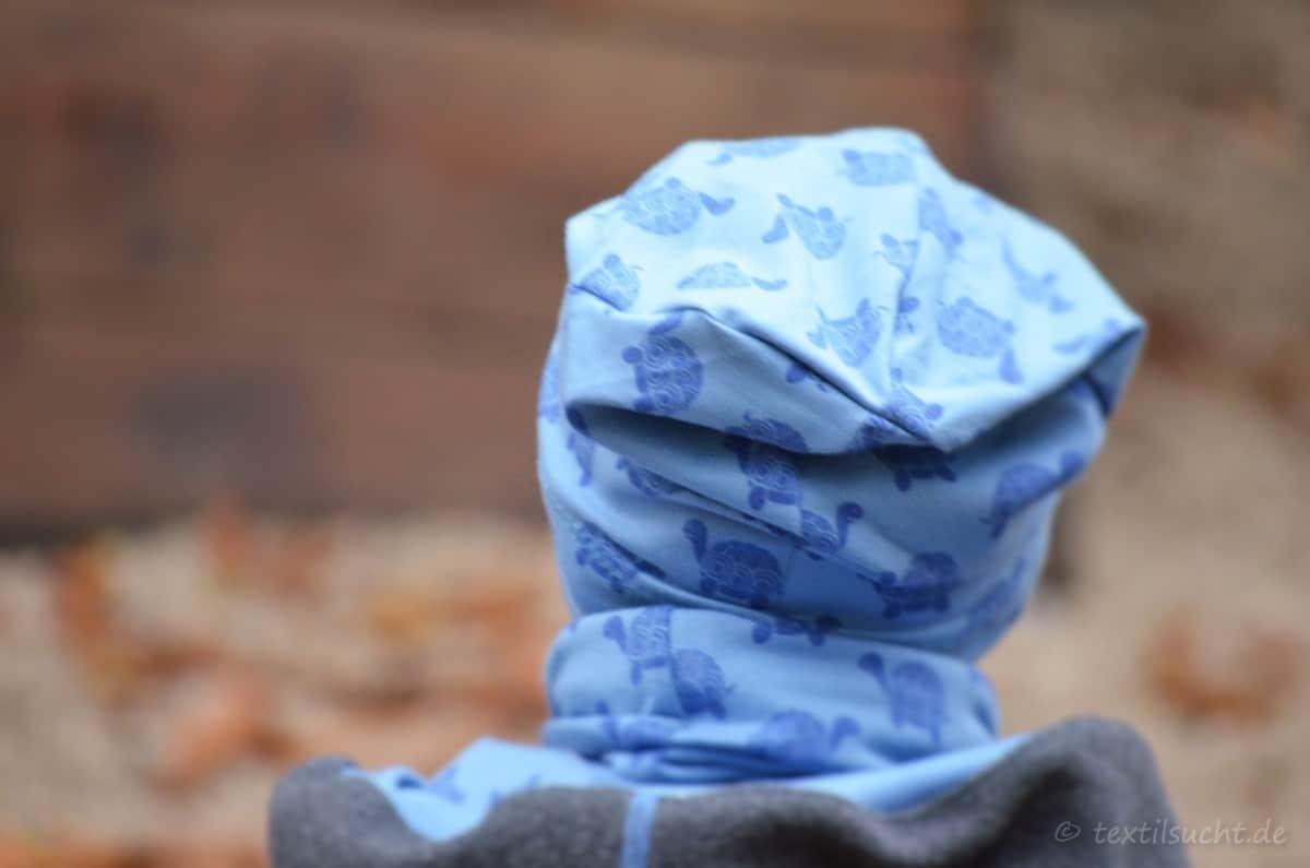 Upcycling Winterjacke für Kinder nähen - Bild 3 | textilsucht.de