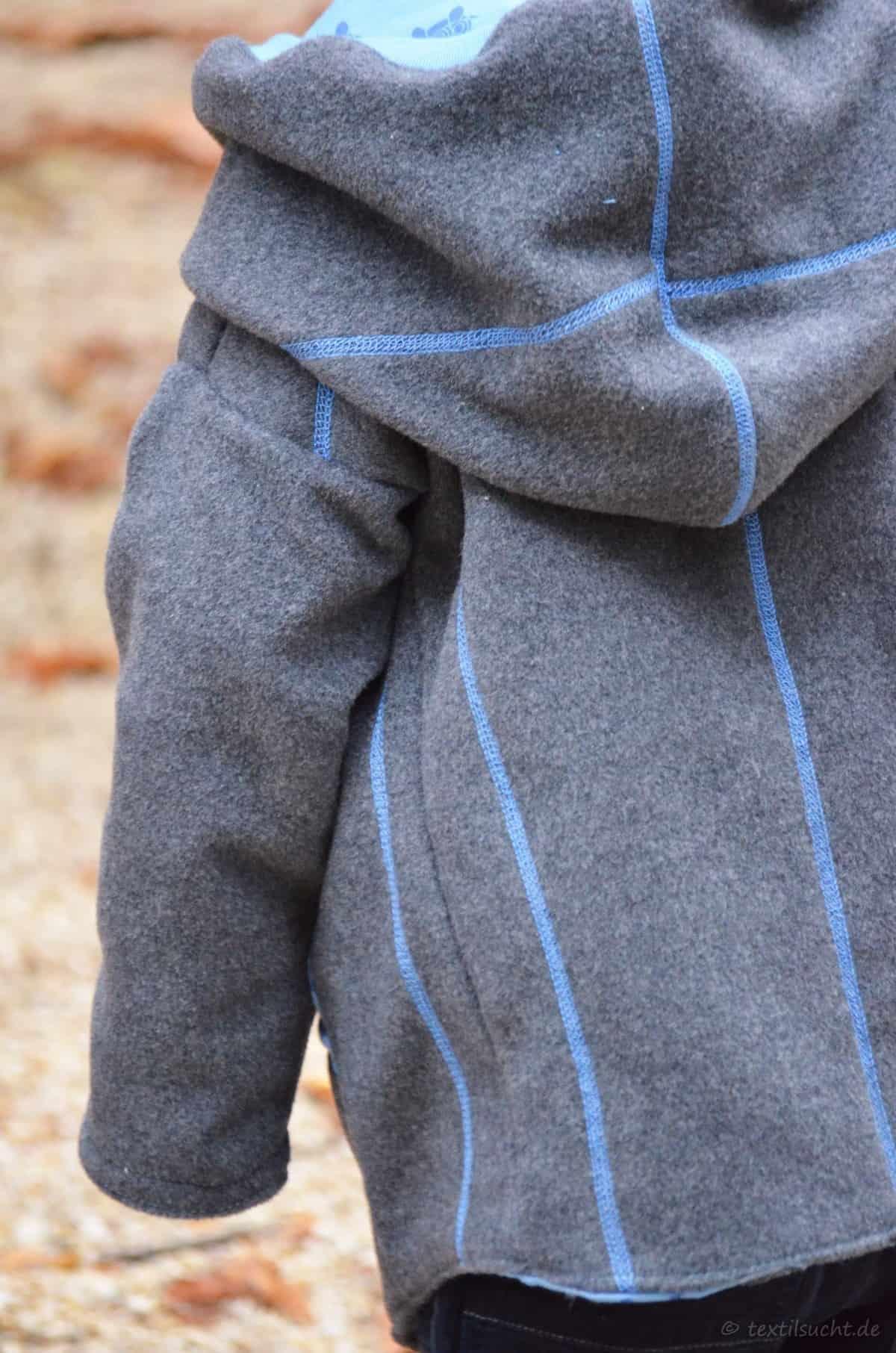 Upcycling Winterjacke für Kinder nähen - Bild 2 | textilsucht.de