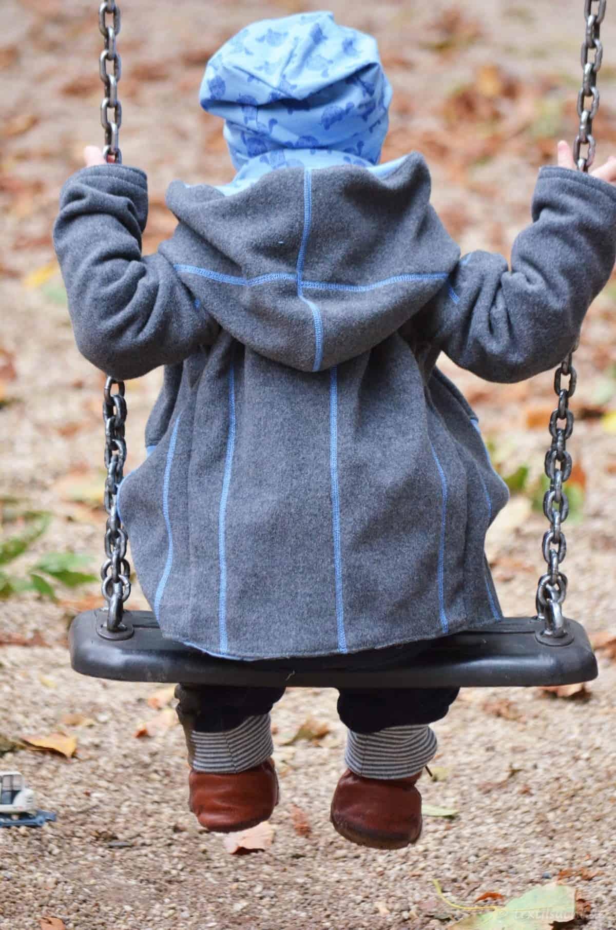 Upcycling Winterjacke für Kinder nähen - Bild 1 | textilsucht.de