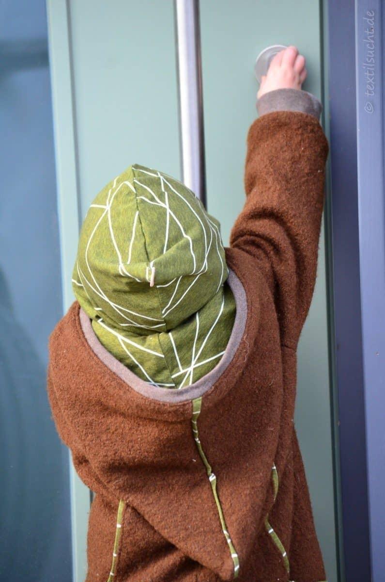 Draußenkind von Lotte und Ludwig als Overall aus Wollwalk - Bild 11 | textilsucht.de