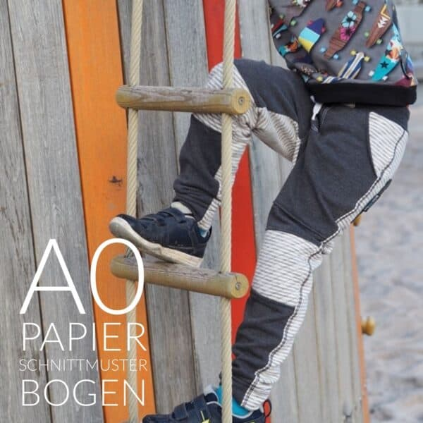 Papierschnittmuster Steppo Slim Fit Kinderhose