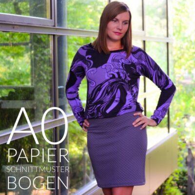 Papierschnittmuster Kleid Florenz