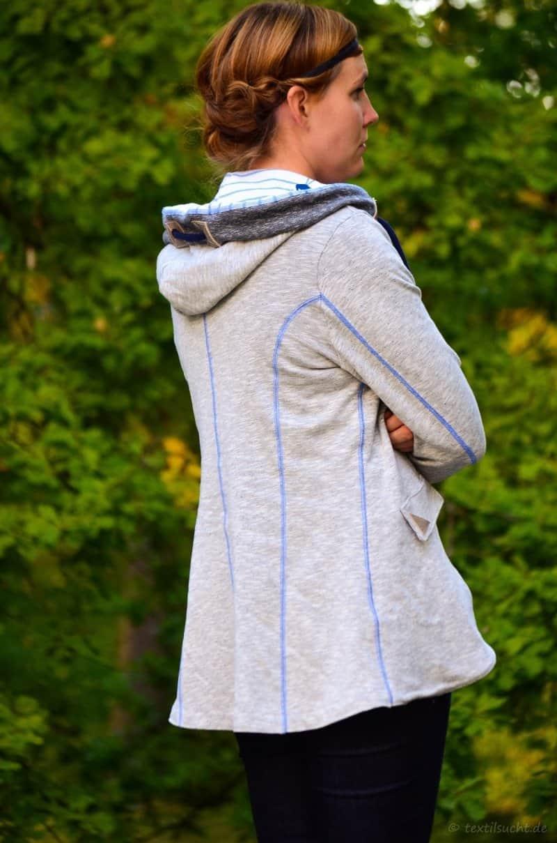 Meine neue La Jazida Blazer Sweatjacke - Bild 2   textilsucht.de