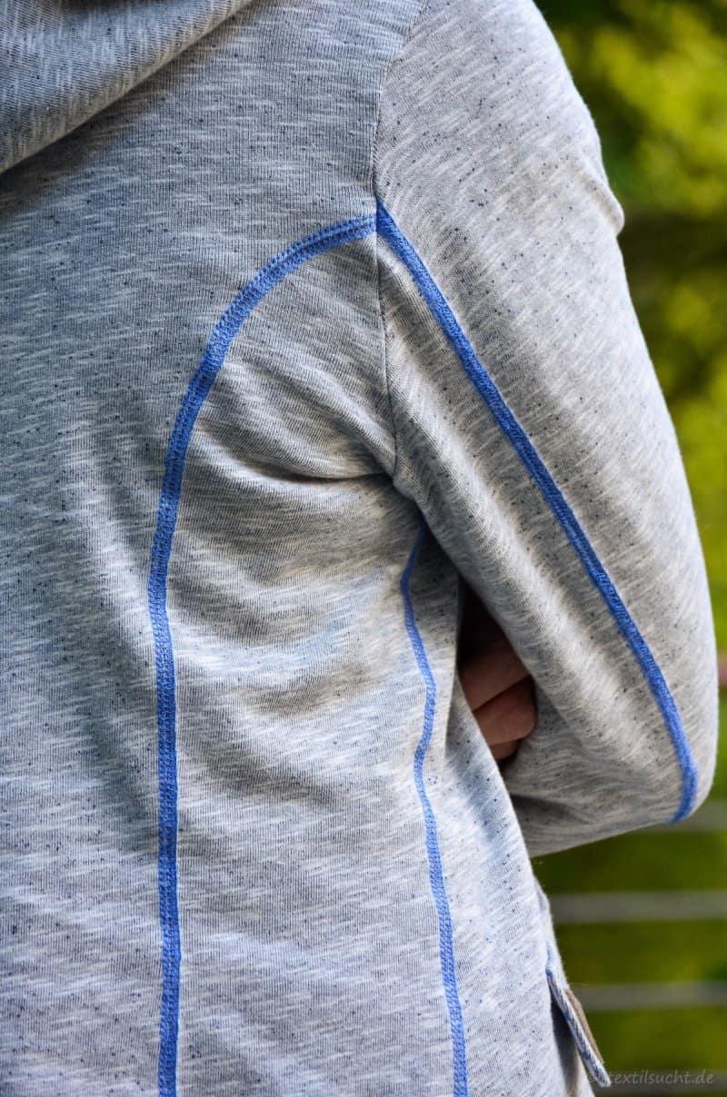 Meine neue La Jazida Blazer Sweatjacke - Bild 6   textilsucht.de