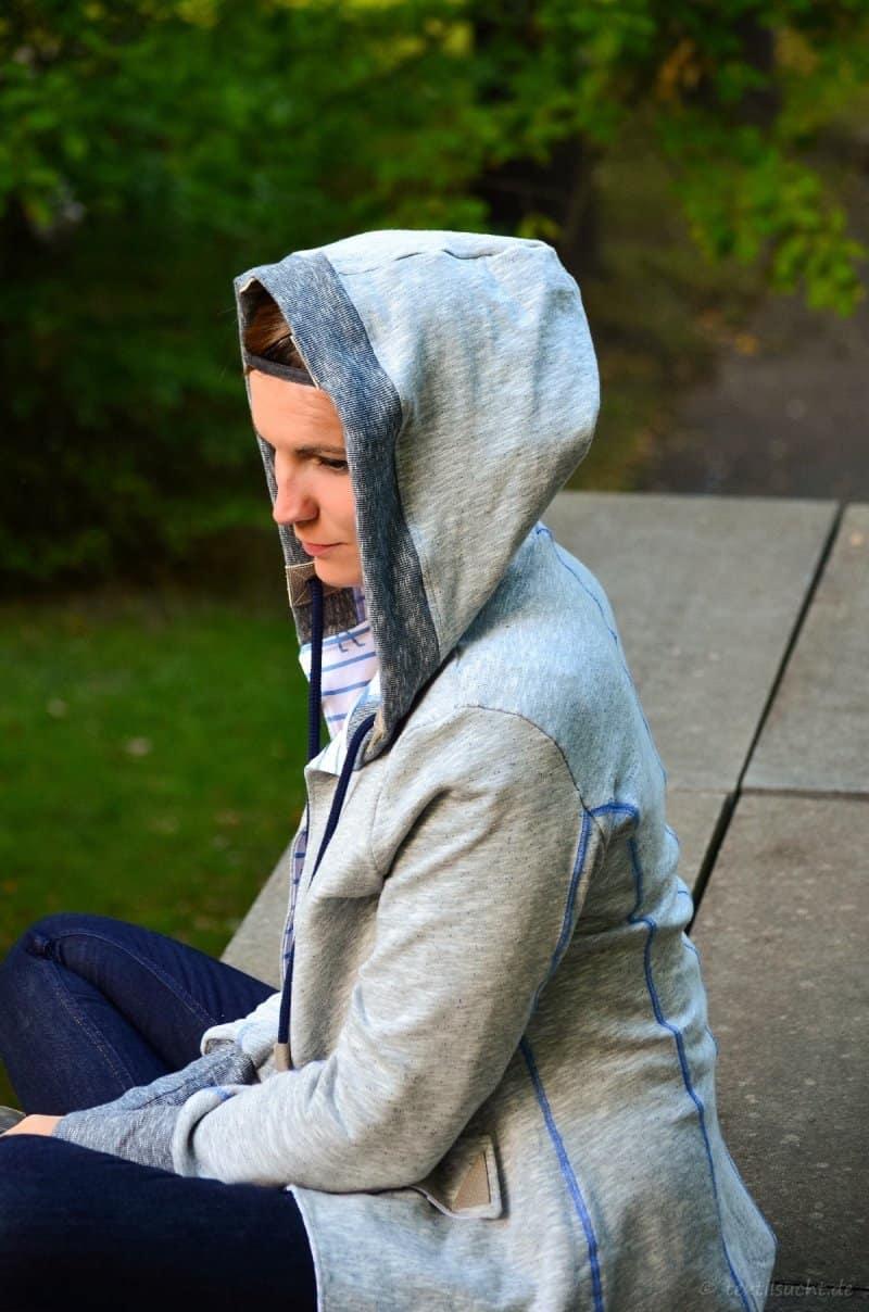 Meine neue La Jazida Blazer Sweatjacke - Bild 11   textilsucht.de
