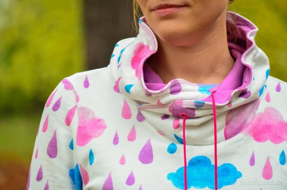 Mein neuer Herzkönigin Sweater in weiß und pink - Bild 12 | textilsucht.de