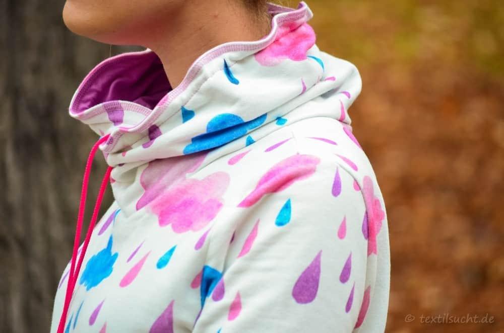 Mein neuer Herzkönigin Sweater in weiß und pink - Bild 13 | textilsucht.de