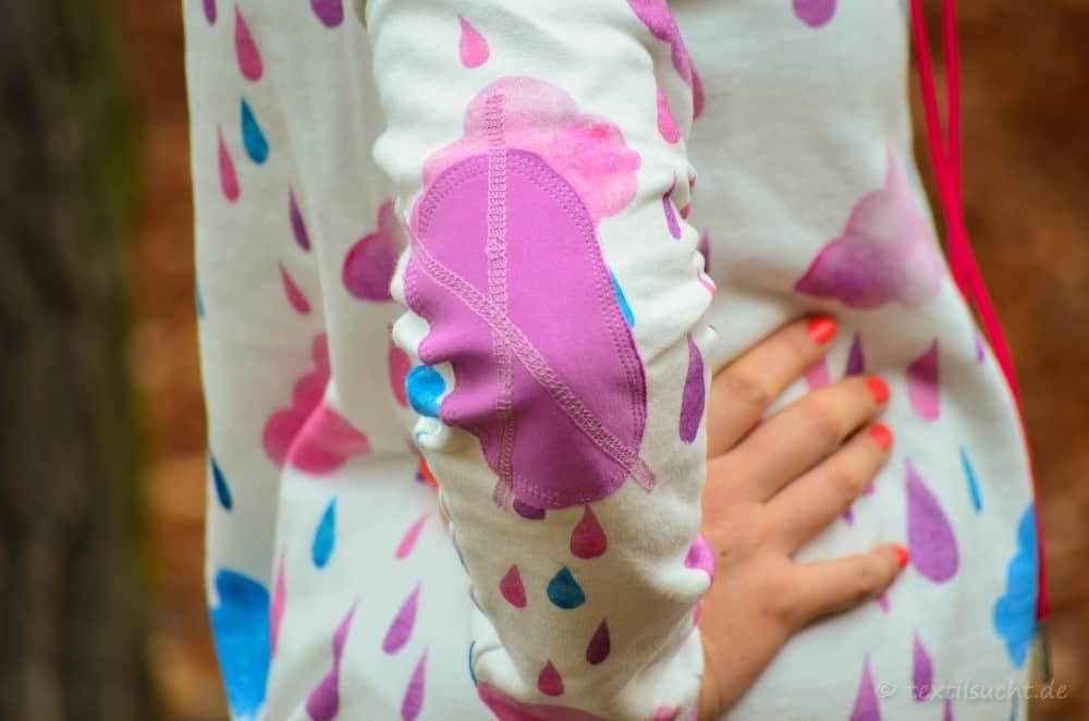Mein neuer Herzkönigin Sweater in weiß und pink - Bild 10 | textilsucht.de
