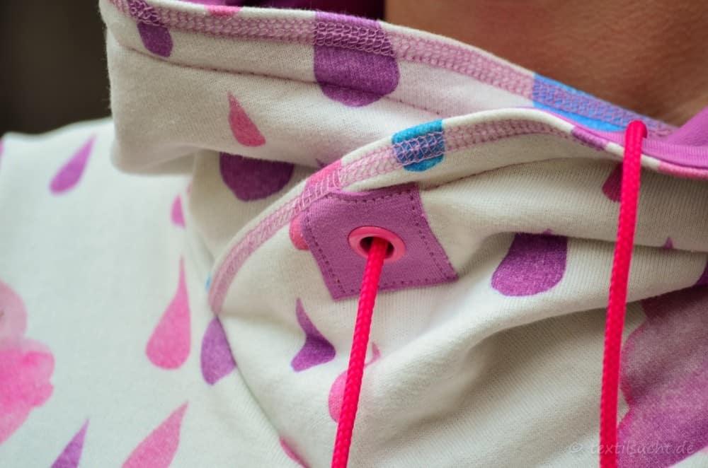 Mein neuer Herzkönigin Sweater in weiß und pink - Bild 11 | textilsucht.de