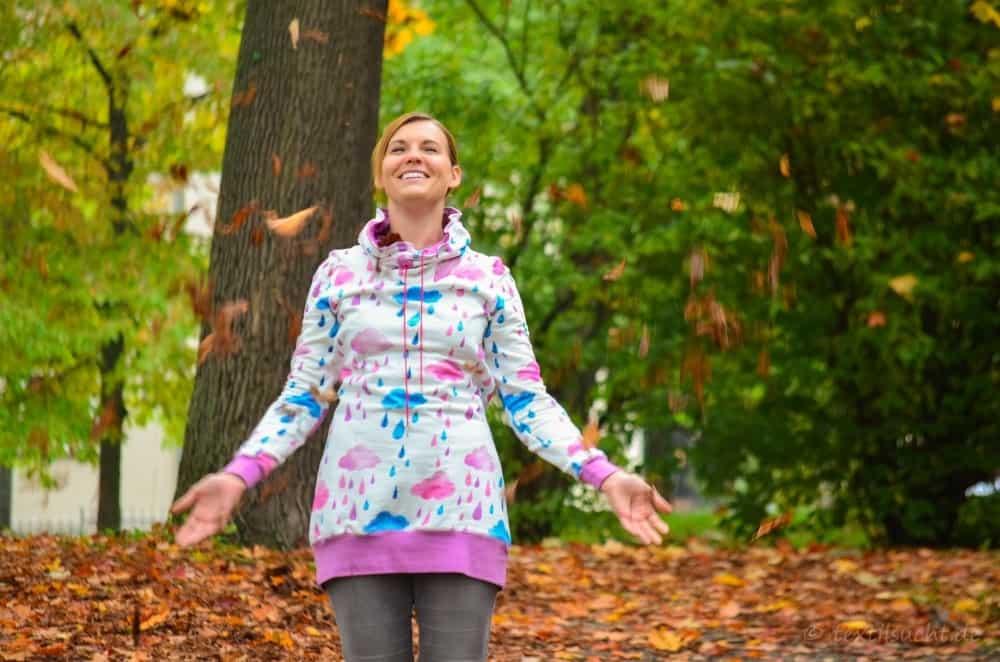 Mein neuer Herzkönigin Sweater in weiß und pink - Bild 17 | textilsucht.de