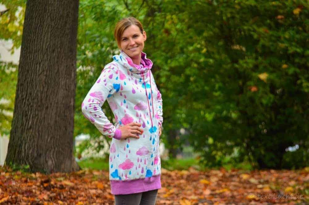 Mein neuer Herzkönigin Sweater in weiß und pink - Bild 6 | textilsucht.de