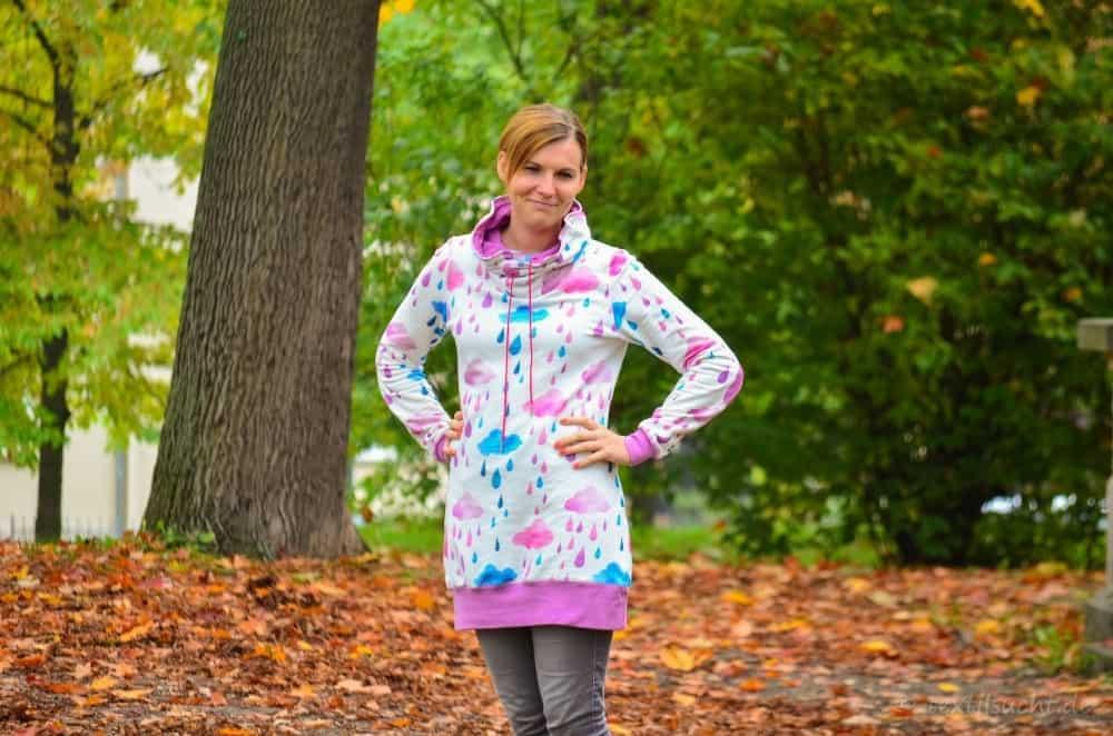 Mein neuer Herzkönigin Sweater in weiß und pink - Bild 1 | textilsucht.de