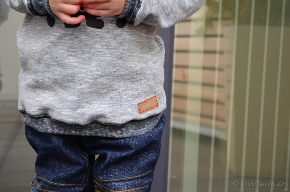 Kinderhose nähen: Steppo als Upcycling Jeans - Bild 3 | textilsucht.de
