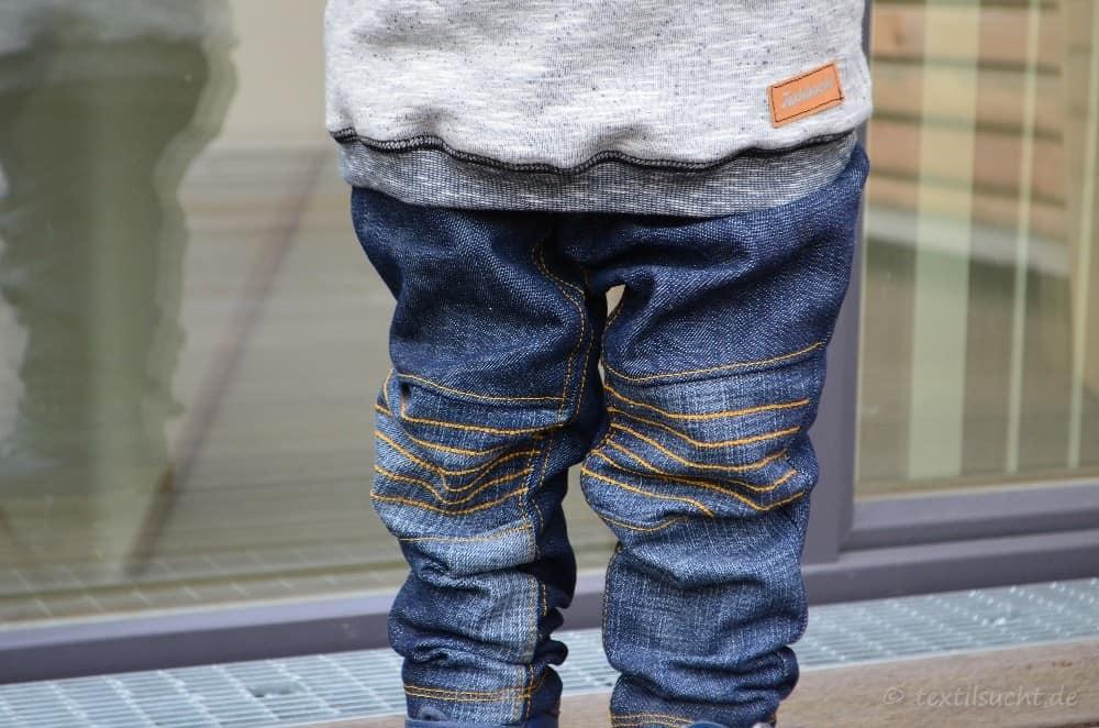 Kinderhose nähen: Steppo als Upcycling Jeans - Bild 1 | textilsucht.de