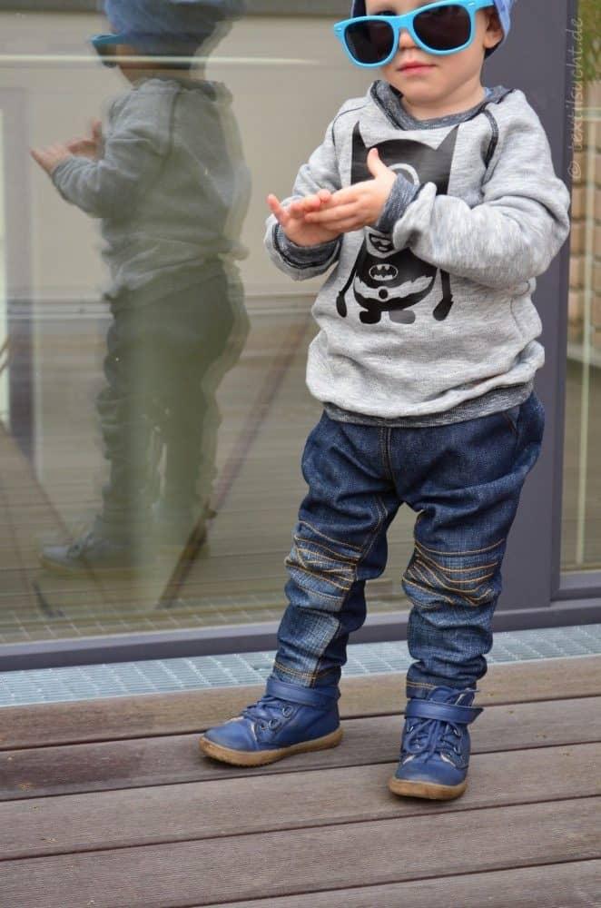 Kinderhose nähen: Steppo als Upcycling Jeans - Bild 2 | textilsucht.de