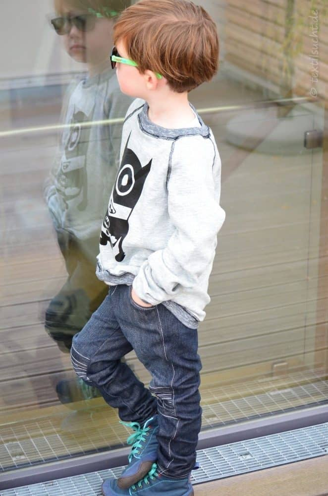 Kinderhose nähen: Steppo als Upcycling Jeans - Bild 4 | textilsucht.de