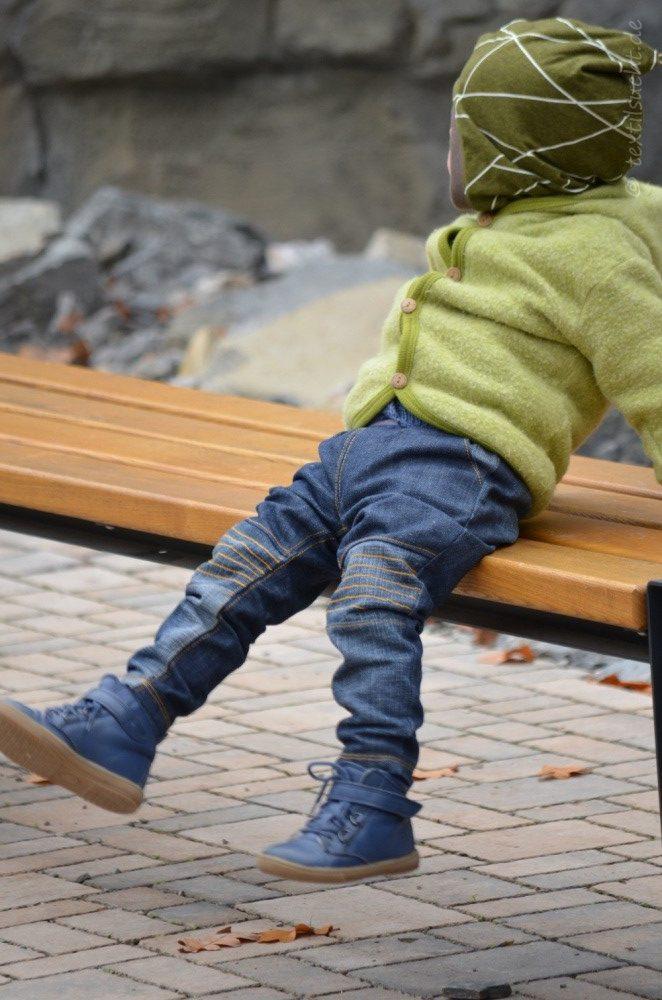 Kinderhose nähen: Steppo als Upcycling Jeans - Bild 6 | textilsucht.de