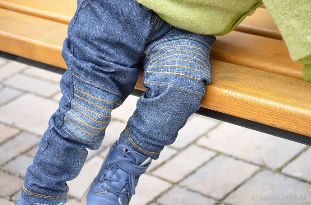 Kinderhose nähen: Steppo als Upcycling Jeans - Bild 7 | textilsucht.de