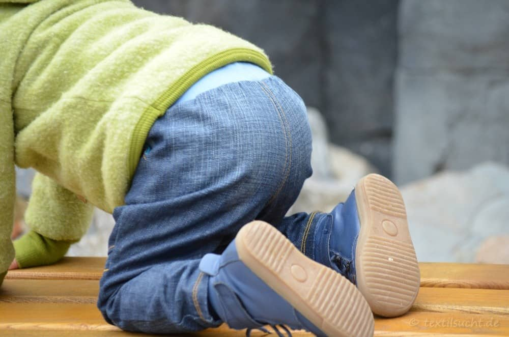 Kinderhose nähen: Steppo als Upcycling Jeans - Bild 8 | textilsucht.de