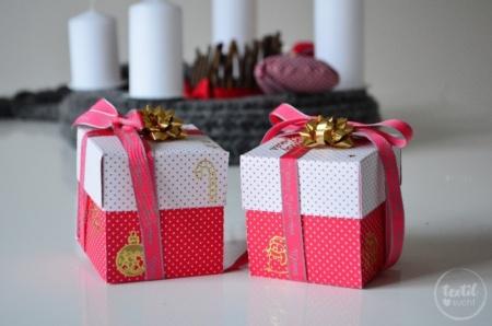 Zeit verschenken: 15 Minuten Weihnachten - Bastelanleitung - Titelbild | textilsucht.de