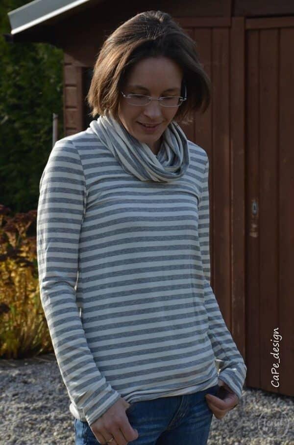 Designbeispiele Damenpullover Leara