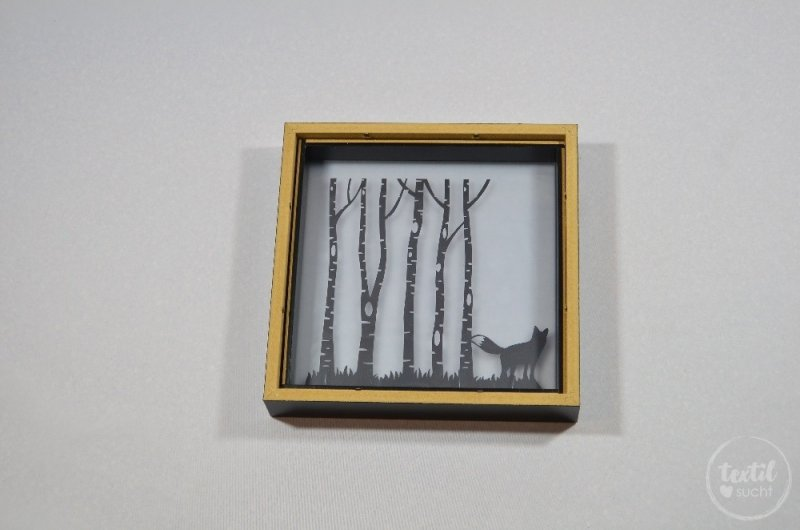 Einen beleuchteten Bilderrahmen basteln - Bild 7 | textilsucht.de