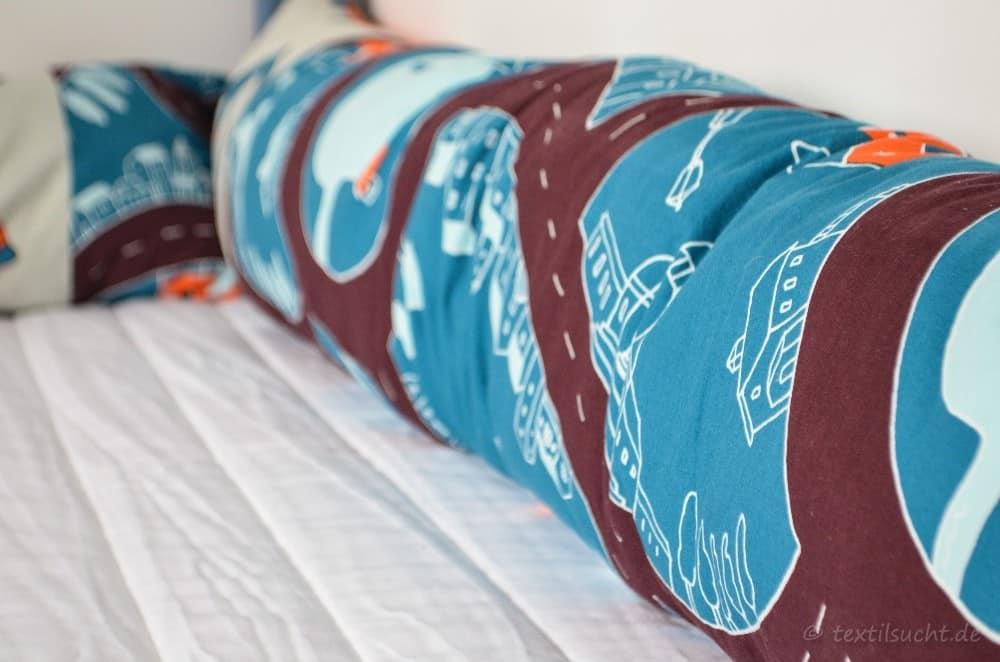 Eine neue Bettumrandung für unser XXL-Hausbett - Bild 2   textilsucht.de
