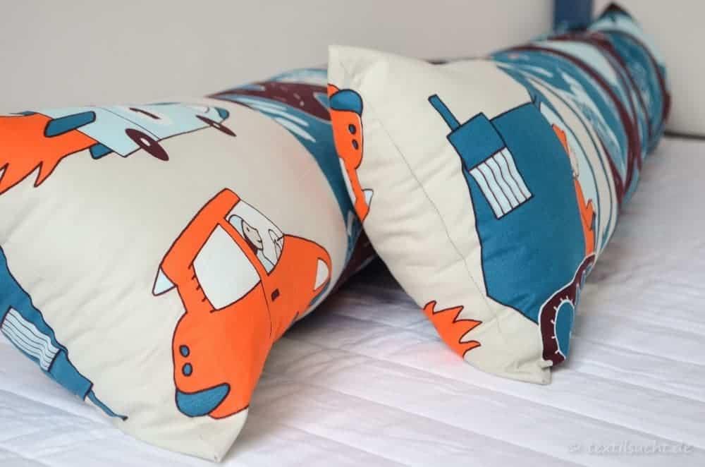 Eine neue Bettumrandung für unser XXL-Hausbett