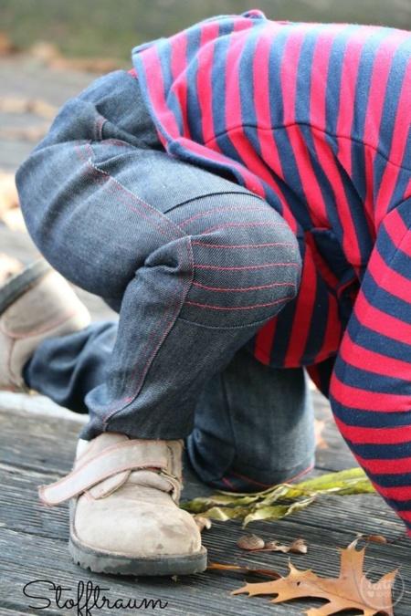 Schnittmuster Kinderhose Steppo - inkl. Nähanleitung - Bild 13