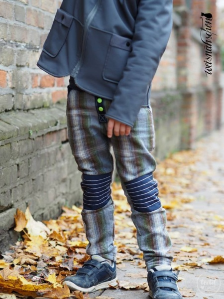 Schnittmuster Kinderhose Steppo - inkl. Nähanleitung - Bild 12