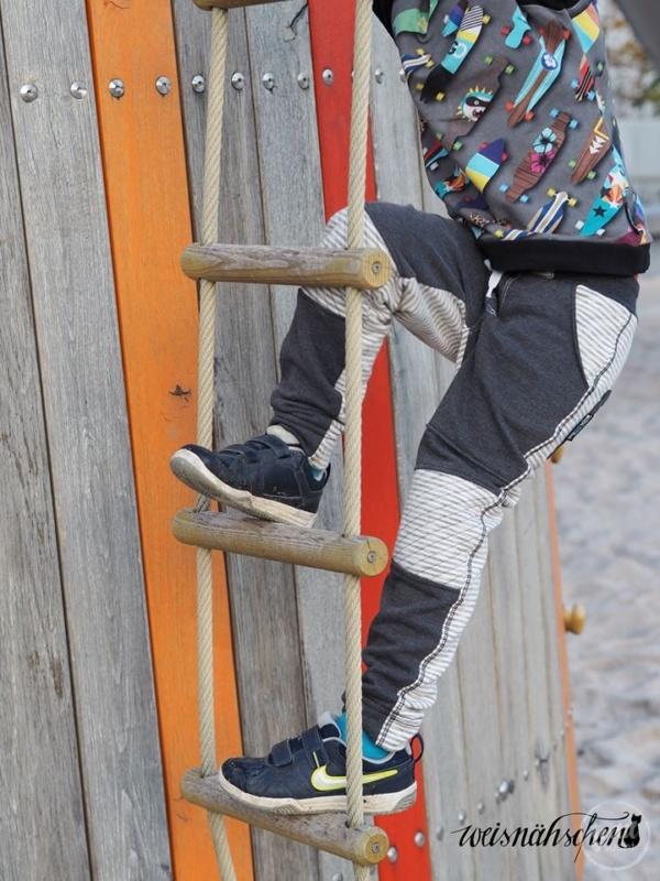 Schnittmuster Kinderhose Steppo - inkl. Nähanleitung