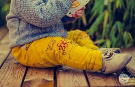Schnittmuster Kinderhose Steppo - inkl. Nähanleitung - Bild 9