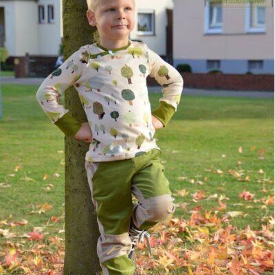 Schnittmuster Kinderhose Steppo - inkl. Nähanleitung - Bild 4