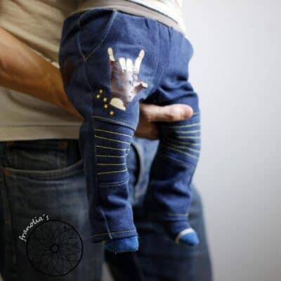 Schnittmuster Kinderhose Steppo - inkl. Nähanleitung - Bild 3