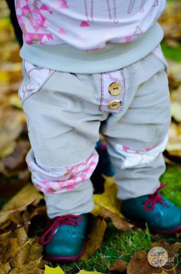 Schnittmuster Kinderhose Steppo - inkl. Nähanleitung - Bild 1