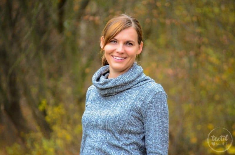 Pullover nähen: Leara mit großem Schalkragen - Bild 9 | textilsucht.de