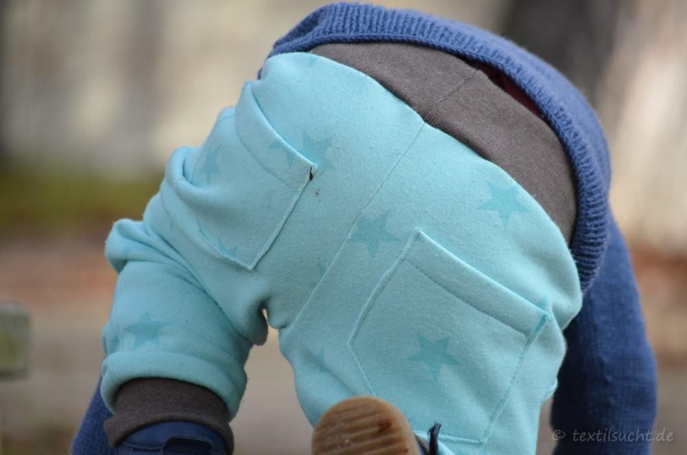 Schnittmuster Kinderhose Steppo aus Sweat nähen - Bild 3   textilsucht.de