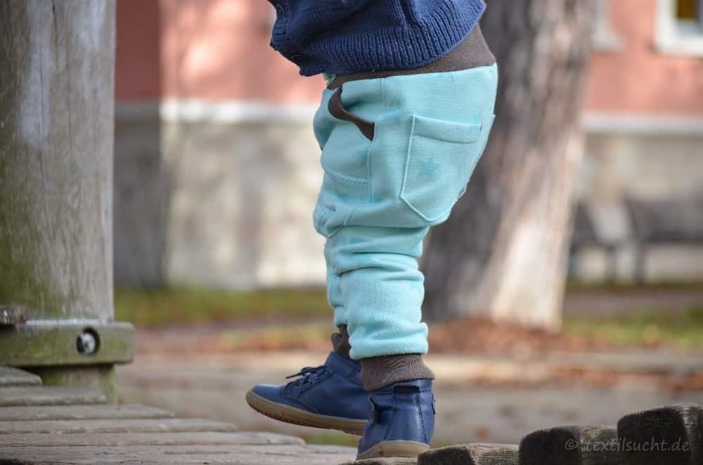 Schnittmuster Kinderhose Steppo aus Sweat nähen - Bild 2   textilsucht.de