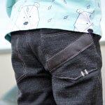 Warm eingepackt: Kinderhose Steppo aus Wollsweat