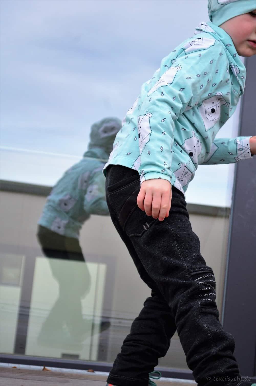 Schnittmuster Kinderhose Steppo aus Wollsweat - Bild 13 | textilsucht.de