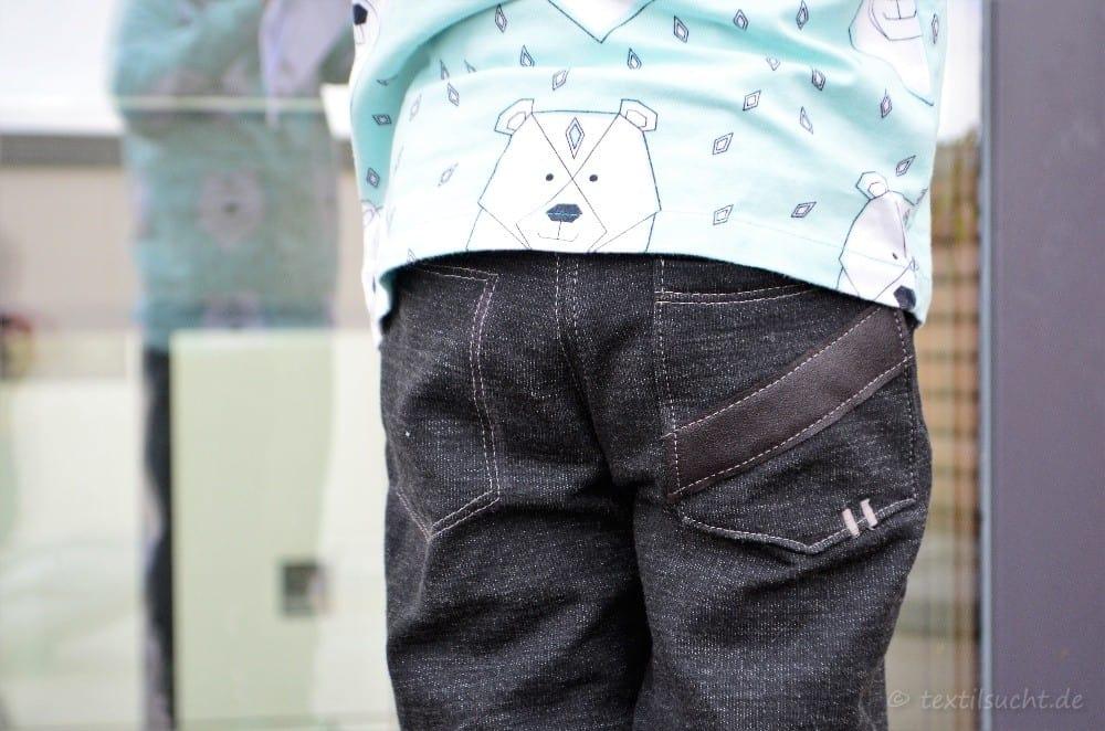 Schnittmuster Kinderhose Steppo aus Wollsweat - Bild 8 | textilsucht.de