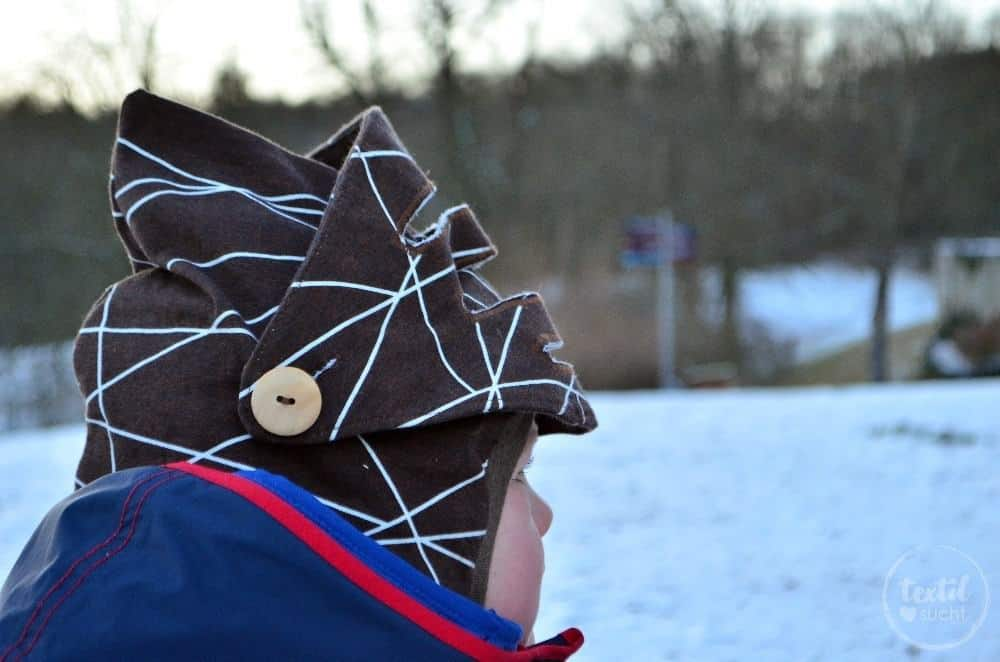 Ein Ritterhelm zum selber nähen - Bild 3 | textilsucht.de