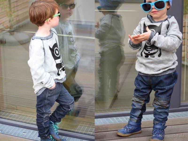 Kinderhose nähen: Steppo als Upcycling Jeans - Titelbild | textilsucht.de