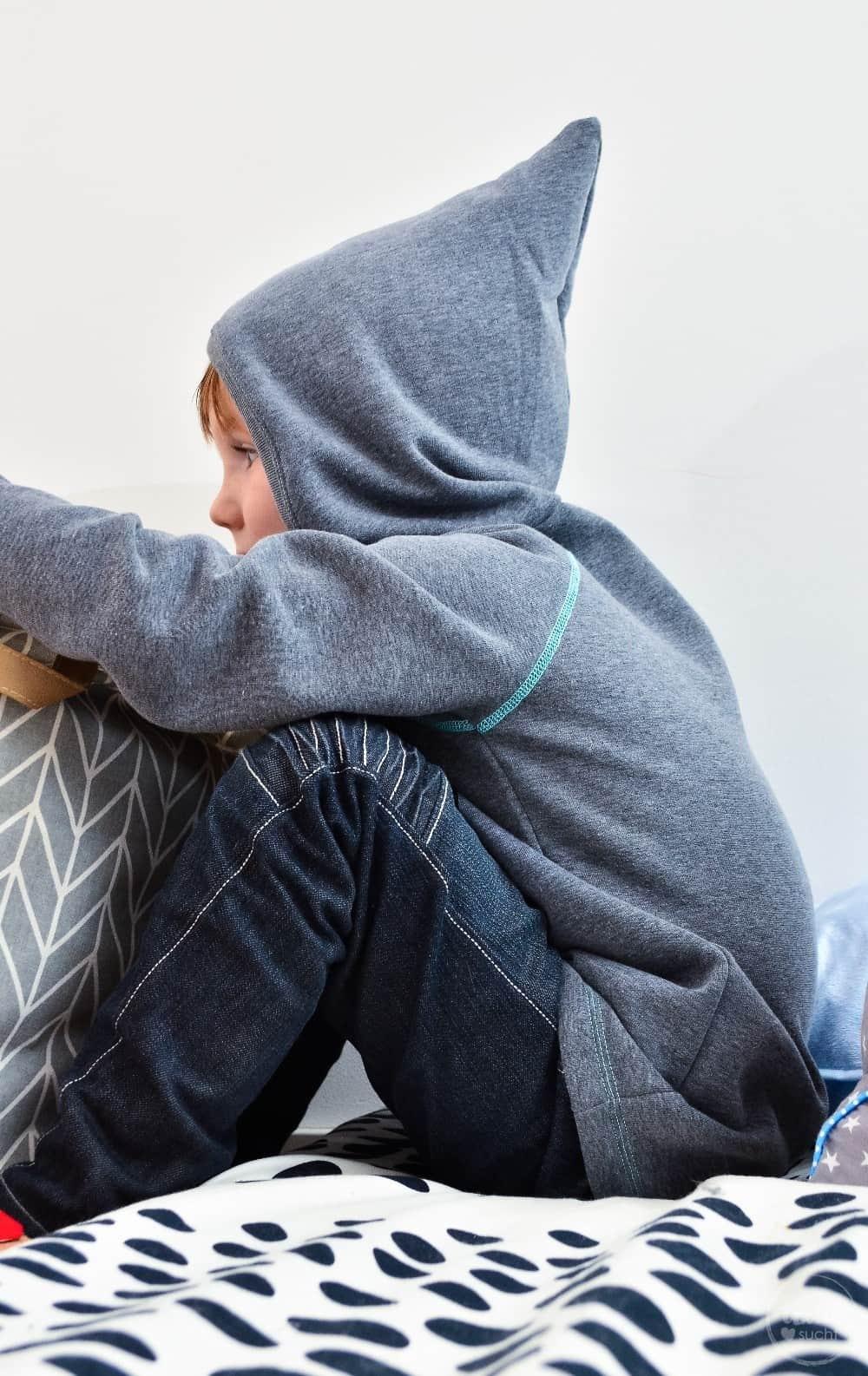 Kapuzenpullover nähen: Raglansweater Max und Maxi - Bild 1 | textilsucht.de