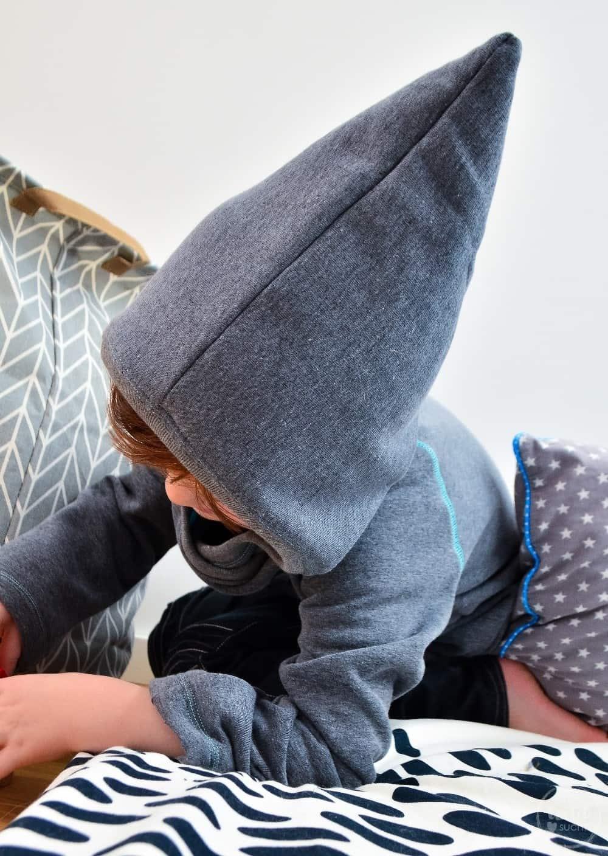 Kapuzenpullover nähen: Raglansweater Max und Maxi - Bild 4 | textilsucht.de