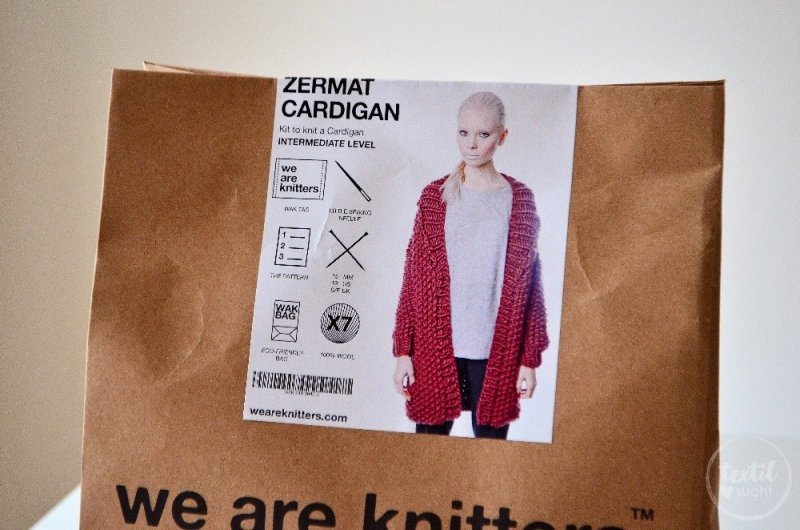 Strickset Zermatt Cardigan von WE ARE KNITTERS™ - Bild 4 | textilsucht.de