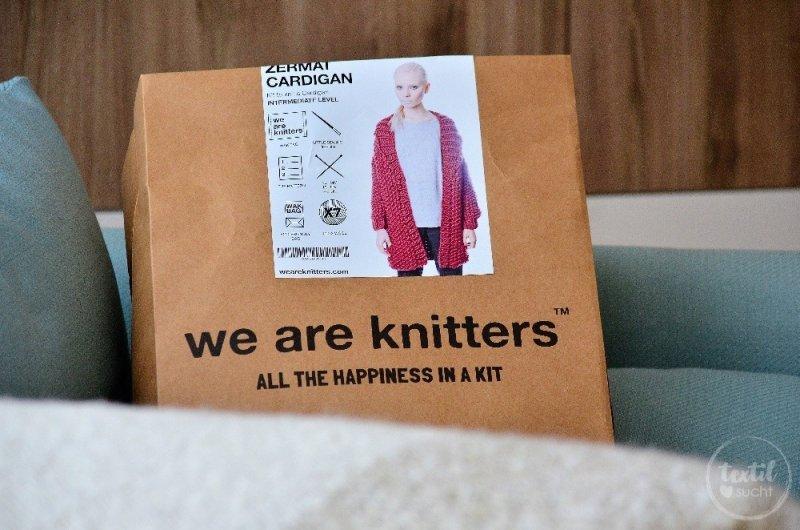 Strickset Zermatt Cardigan von WE ARE KNITTERS™ - Bild 1 | textilsucht.de