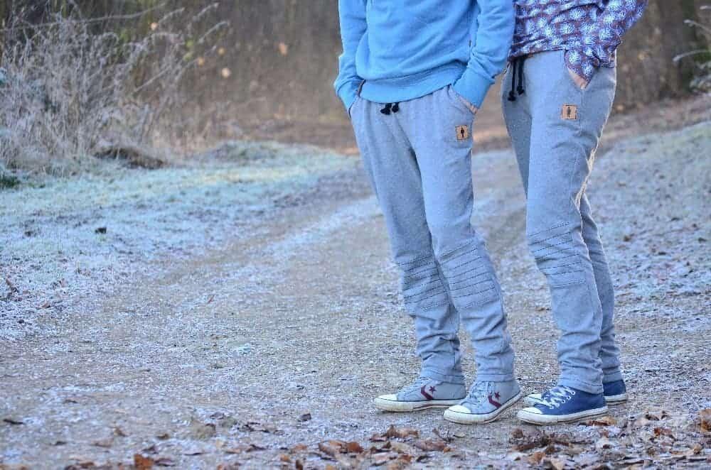 Steppo wird groß: Jogginghose nähen